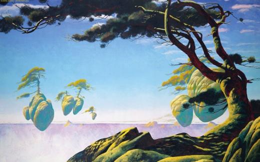 Roger Dean - Floating Island