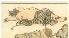 hokusai-katsushika - manga