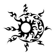 tribal-sun-and-moon-tattoo-designs