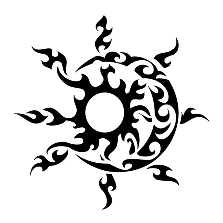 Tribal Sun And Moon Tattoo Designs Photoatelier Blog